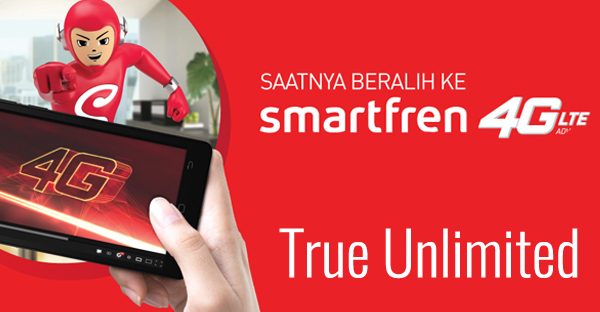 Paket Kuota Internet Unlimited Smartfren